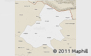 Classic Style 3D Map of Gonda