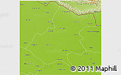 Physical 3D Map of Gonda