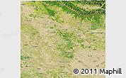 Satellite 3D Map of Gonda