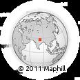 Outline Map of Gonda