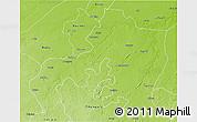 Physical 3D Map of Jhansi