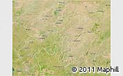 Satellite 3D Map of Jhansi