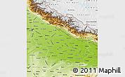 Physical Map of Uttar Pradesh
