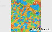 Political Map of Uttar Pradesh