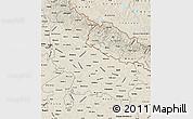 Shaded Relief Map of Uttar Pradesh