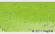 Physical 3D Map of Mirzapur
