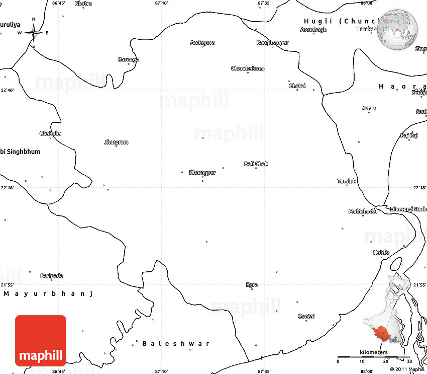 Blank simple map of medinipur gumiabroncs Gallery