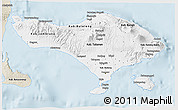 Classic Style 3D Map of Bali