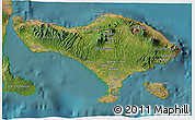 Satellite 3D Map of Bali
