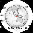Outline Map of Kab. Badung
