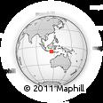 Outline Map of Kab. Bangli