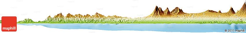 Physical Horizon Map of Kab. Buleleng