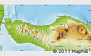 Physical Map of Kab. Buleleng