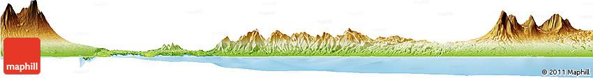 Physical Horizon Map of Kab. Jembrana