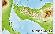 Physical Map of Kab. Jembrana