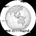 Outline Map of Kab. Tabanan
