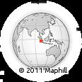 Outline Map of Bengkulu