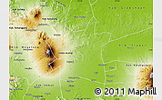 Physical Map of Kab. Boyolali
