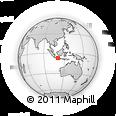 Outline Map of Kodya. Salatiga