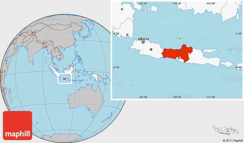 Gray location map of central java highlighted country gumiabroncs Choice Image