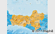 Political Shades Map of Central Java