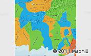 Political Map of Central Kalimantan