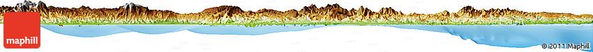 Physical Horizon Map of Kab. Poso