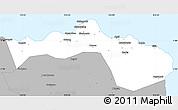 Gray Simple Map of Kab. Situbondo