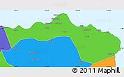 Political Simple Map of Kab. Situbondo