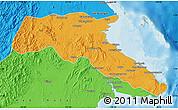 Political Map of Kab. Berau