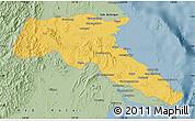 Savanna Style Map of Kab. Berau