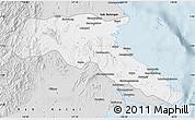 Silver Style Map of Kab. Berau