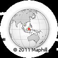 Outline Map of Kab. Berau