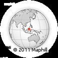Outline Map of Kab. Bulongan