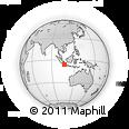 Outline Map of Kodya. Jakarta Utara