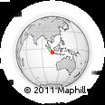 Outline Map of Jakarta