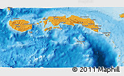 Political 3D Map of Kab. Maluku Tengah
