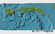 Satellite 3D Map of Kab. Maluku Tengah
