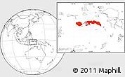Blank Location Map of Kab. Maluku Tengah