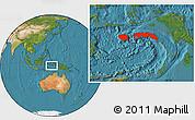 Satellite Location Map of Kab. Maluku Tengah