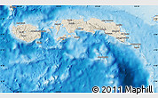 Shaded Relief Map of Kab. Maluku Tengah