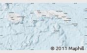 Silver Style Map of Kab. Maluku Tengah