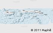Classic Style Panoramic Map of Kab. Maluku Tengah