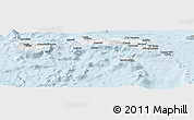 Gray Panoramic Map of Kab. Maluku Tengah