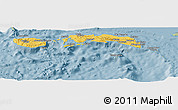 Savanna Style Panoramic Map of Kab. Maluku Tengah