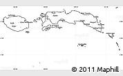 Blank Simple Map of Kab. Maluku Tengah