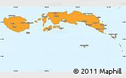 Political Simple Map of Kab. Maluku Tengah