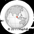 Outline Map of Kab. Labuhan Batu