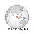Outline Map of Kab. Tapanuli Selatan