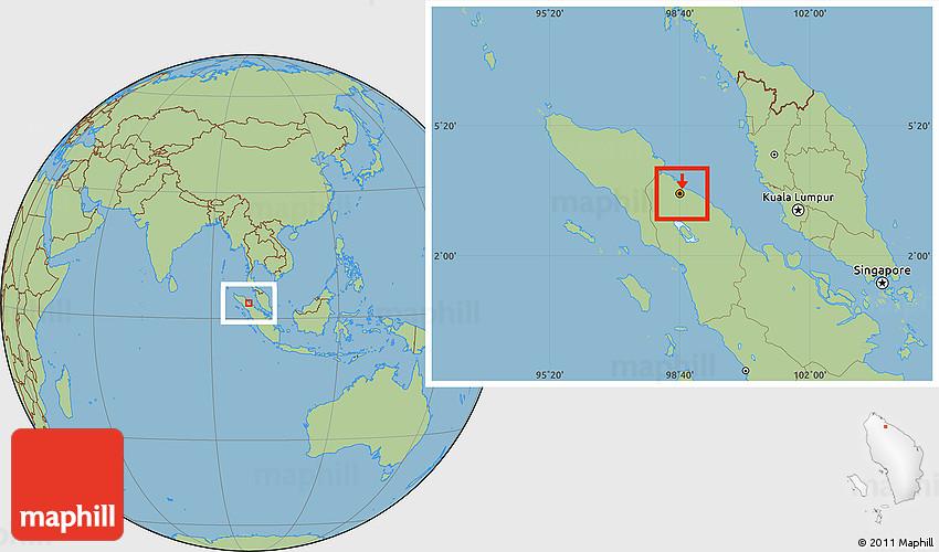 Savanna Style Location Map of Kodya. Medan on hong kong map, padang map, balikpapan map, shah alam map, cebu map, borneo map, kabul map, baku map, indonesia map, bandar seri begawan map, east java map, palembang map, south jakarta map, pekanbaru map, rio de janeiro map, recife map, natal map, mandalay map, yogyakarta map, semarang map,